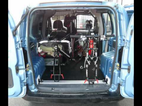 Bicycle transport in cars - YouTube