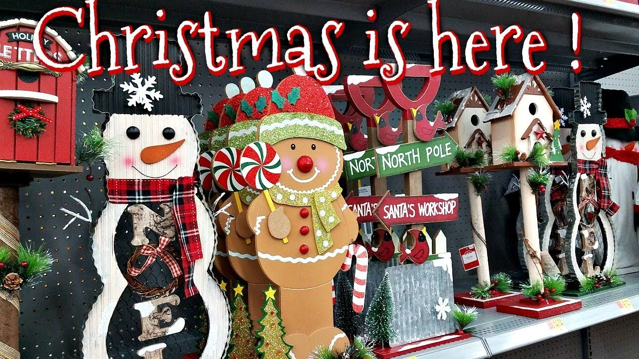 Shop with me christmas walmart decorations youtube