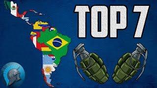 TOP 7 PAÍSES LATINOAMERICANOS MÁS IMPORTANTES GEOPOLITICAMENTE