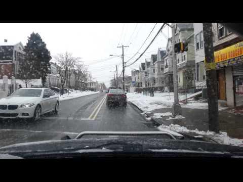 Driving in Newark durring blizzard listening to Radio 20min