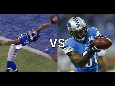 Can Odell Beckham Jr Get a 100+yd Pick Six TD While Covering Calvin Johnson? Madden Gameplay