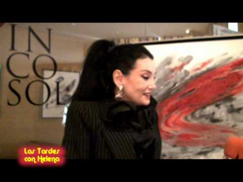 Las Tardes con Helena.Entrevista a (Lamia Kashoggi )en el Hotel Incosol de marbella