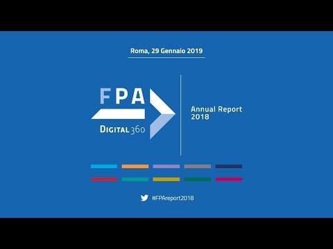 Presentazione Annual Report FPA 2018 - 29 gennaio 2019