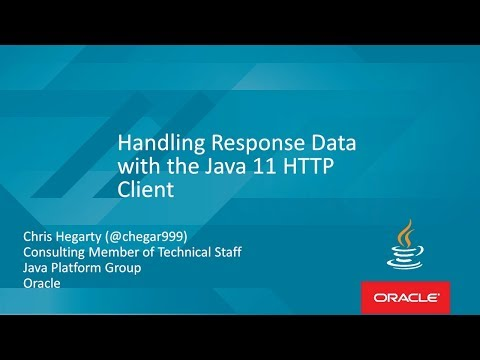 Handling Response Data with the Java 11 HTTP Client with