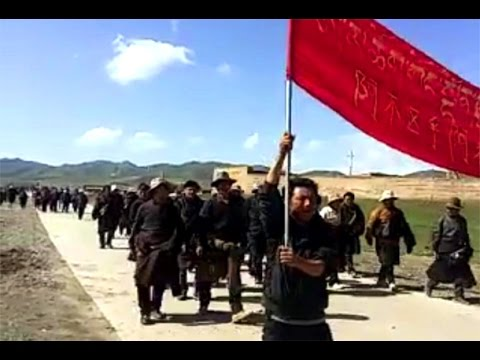 Protests in Tibet call upon President Xi to keep his words on environment