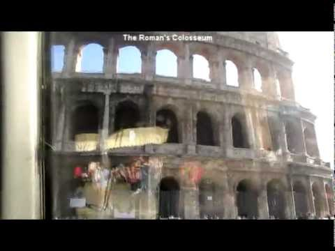 Popes' Burial Site-St. Peter's Basilica & Roman's Colosseum