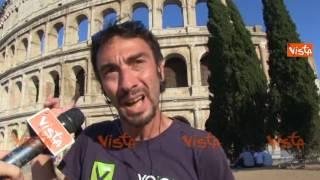 Virginia Raggi contro i centurioni, la reazione dei romani