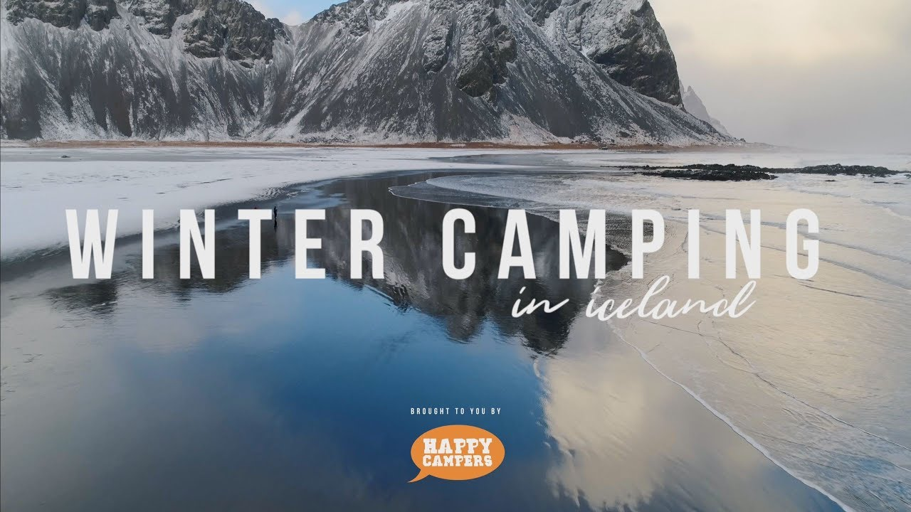 Winter Camping in Iceland
