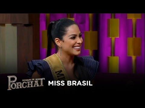 Mayra Dias explica qual é o trabalho da Miss Brasil
