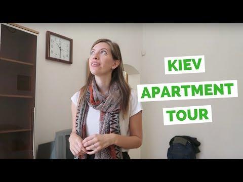 Ukraine Apartment Tour in Kiev