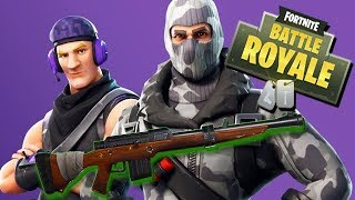 Hunting Rifle Legendary Skin - Fortnite Battle Royale Gameplay English