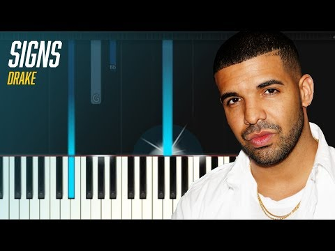 "Drake - ""Signs"" Piano Tutorial - Chords - How To Play - Cover"