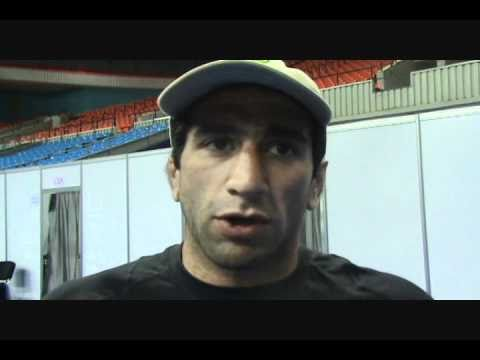 Mike Zadick after his competition at 60 kg at World Wrestling Championships