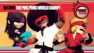 Power Ping Pong (by Chillingo Ltd) - iOS / Android - HD Gameplay Trailer