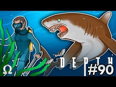 THE WHITE TIP SHARK IS AMAZING! | Depth #90 Divers vs Sharks Ft. Satt