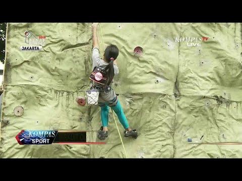 64 Atlet Remaja Ikuti Sirkuit Panjat Tebing Dki Jakarta Youtube
