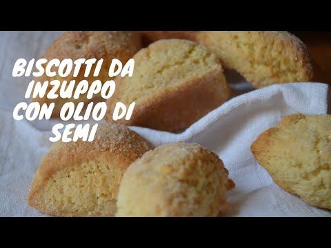 Biscotti da inzuppo con olio - Le pastarelle della nonna
