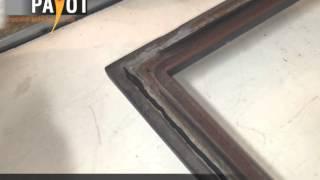 changement d un joint de porte et joint de vitre poele a bois insert