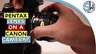 Pentax k mount adapter - Is it any good?