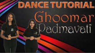 Learn Dance on Padmavati : Ghoomar Song Deepika Dance Destination Dance tutorial step by step choreo