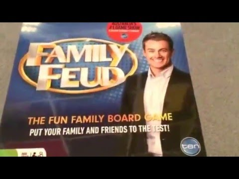 Celebrity family feud video game wii