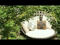 Garden : seating and decor ideas