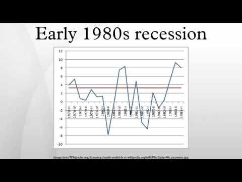 Early 1980s recession - YouTube