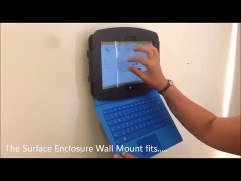 Surface Enclosure Wall Mount Surface 2 Surface Pro Pro