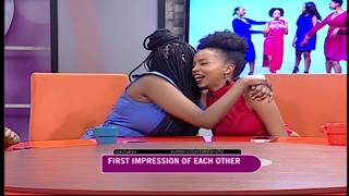 The ladies reveal their first impression of each other