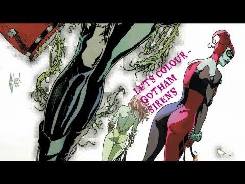 Speed Painting - Gotham City Sirens