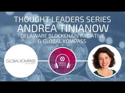 Andrea Tinianow: Delaware Blockchain Initiative