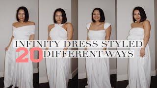 MULTI-WRAP DRESS STYLED 20 WAYS | How to Wear a Multi Wrap Dress