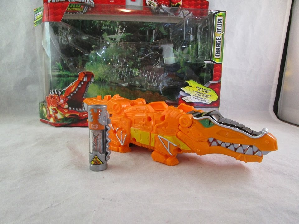 Power Rangers-Dino Super Charge Dino Chargeur-numéro #12 Deinosuchus Energem