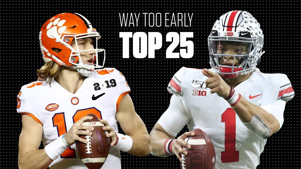 College football's way-too-early top 25 for the 2020 season | College Football on ESPN