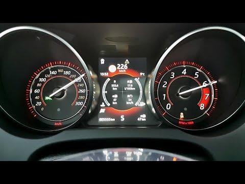 Jaguar F-type 2,0 i4 Turbo: zrychlení 0 - 226 km/h