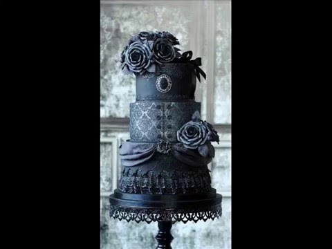 dark wedding cake recipe cake 13351