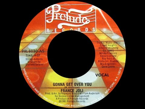 France Joli ~ Gonna Get Over You 1981 Spanglish Purrfection Version