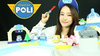 Robocar Poli Deluxe Auto Poli playset Toys   Carrie & Toys