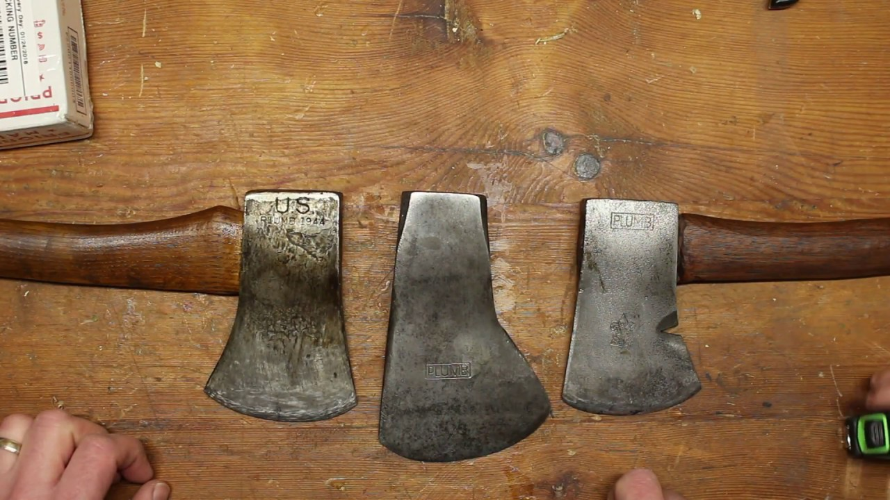 Plumb Rafting Axe Restoration Part 1 Youtube