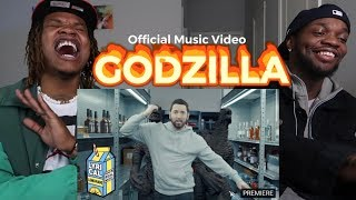 EMINEM FT. JUICE WRLD - GODZILLA (OFFICIAL MUSIC VIDEO)