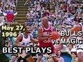 May 27 1996 Bulls vs Magic game 4 highlights