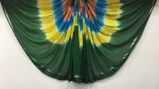 latest multicolored satin  sarees