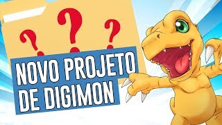 Novo projeto de Digimon