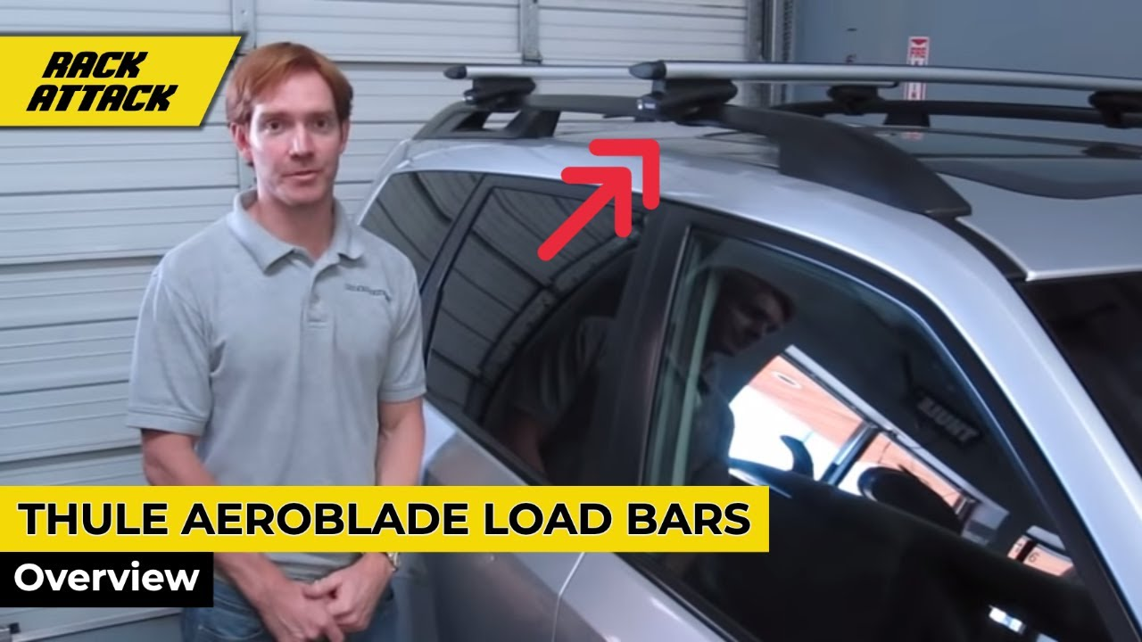 Thule Aeroblade Load Bars Presented By Rack Outfitters