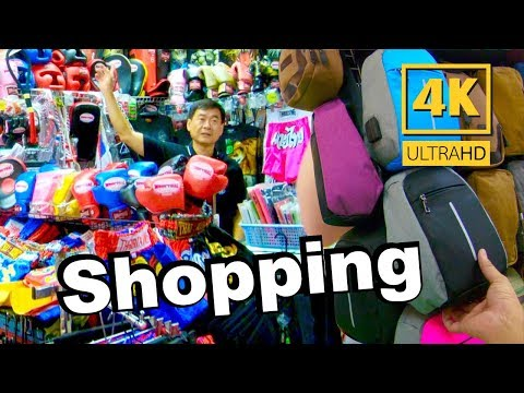 Walking Trips In MBK CENTER in Bangkok Thailand - 4K