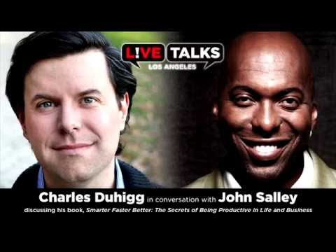 Charles Duhigg in conversation with John Salley