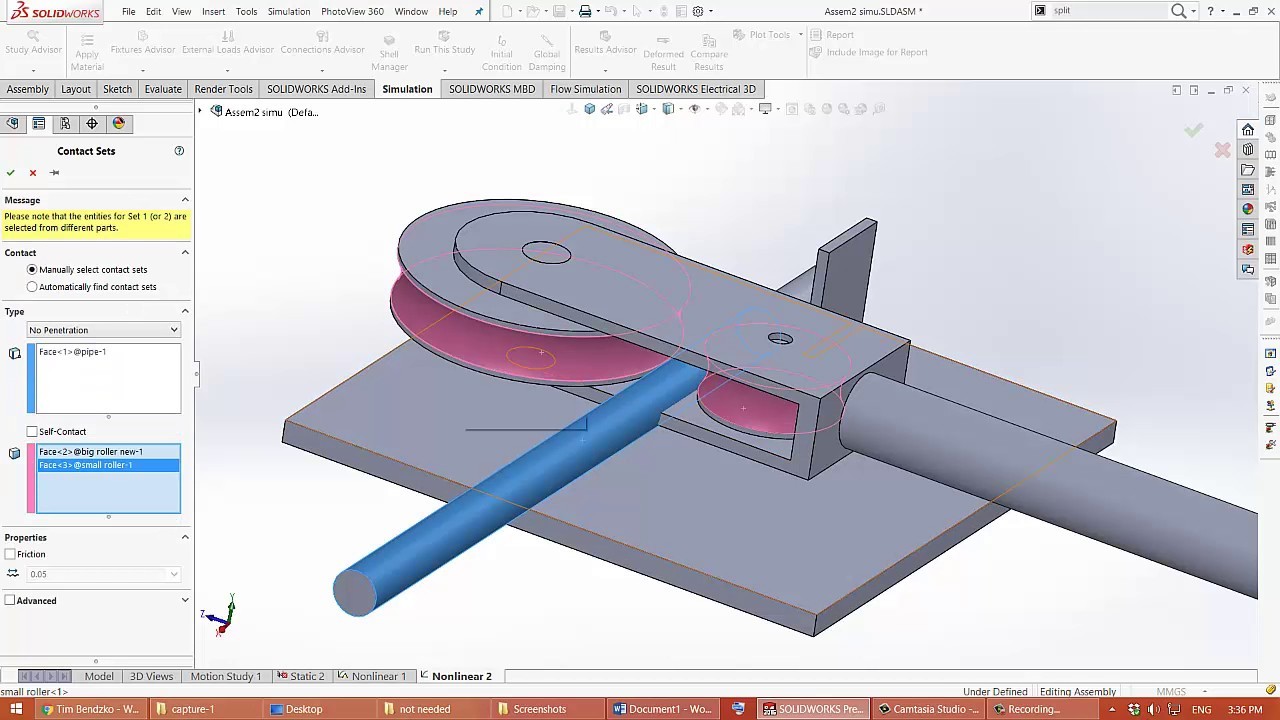 nonlinear dynamic simulation of pipe bending machine youtube. Black Bedroom Furniture Sets. Home Design Ideas