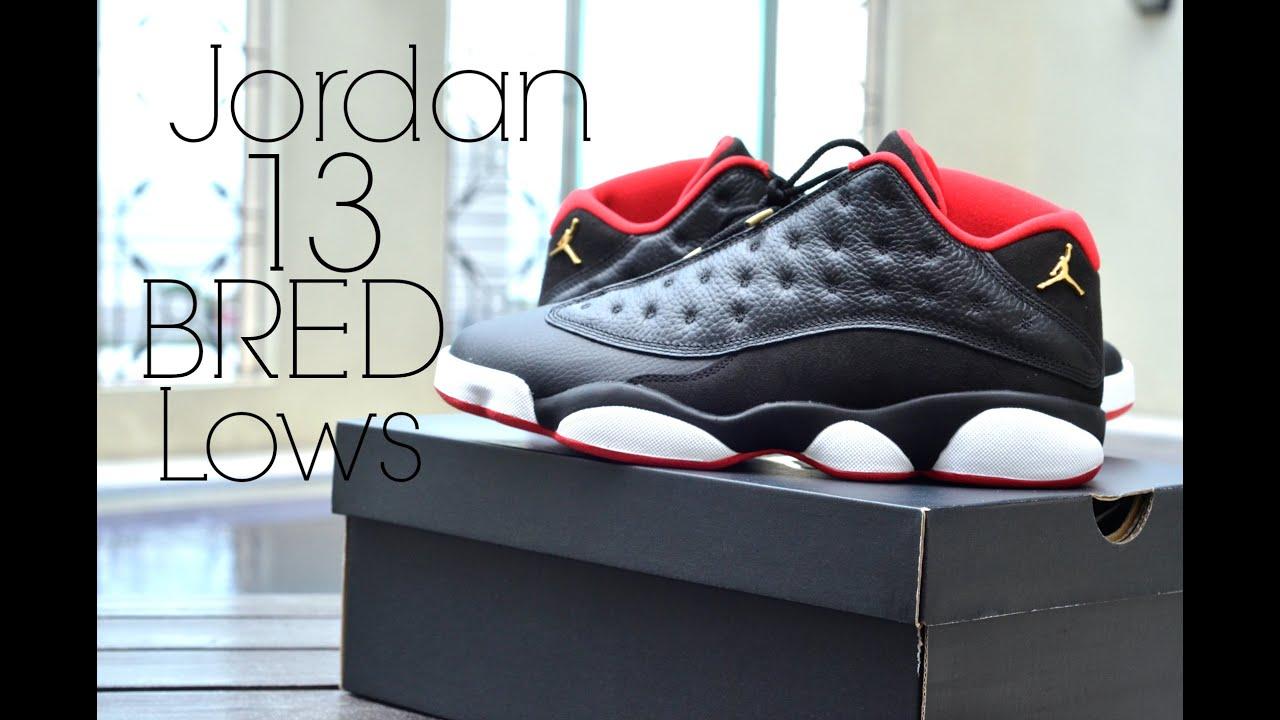 watch 0a003 4073b Air Jordan 13 Bred Lows Review + On Feet