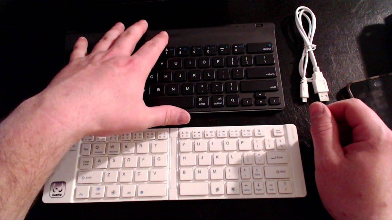 iWorkz Folding Bluetooth Keyboard