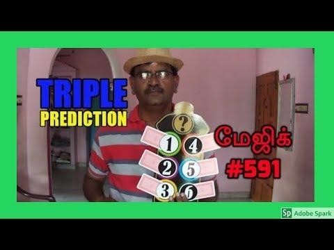 MAGIC TRICKS VIDEOS IN TAMIL #591 I TRIPLE PREDICTION @Magic Vijay